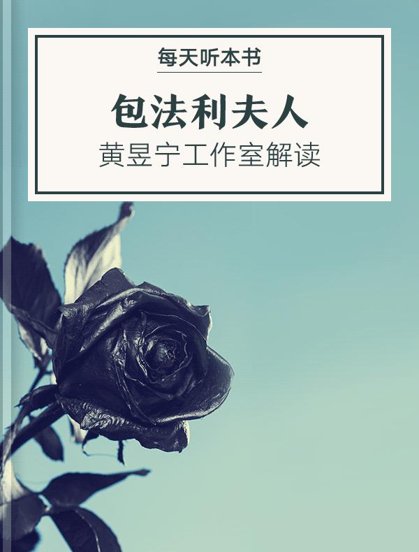 《包法利夫人》| 黄昱宁工作室解读