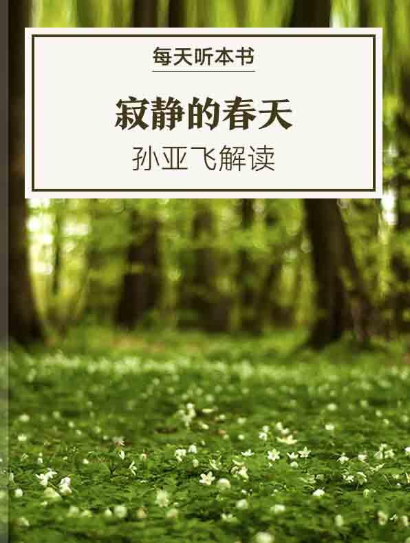 《寂静的春天》| 孙亚飞解读