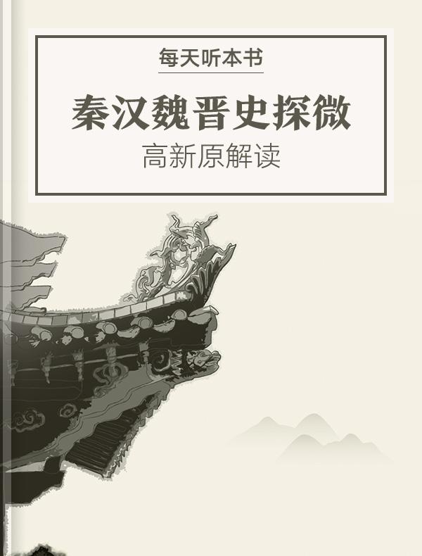 《秦汉魏晋史探微》  高新原解读