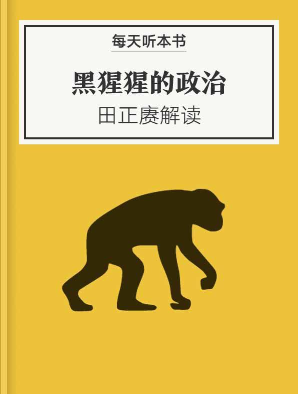 《黑猩猩的政治》| 田正赓解读