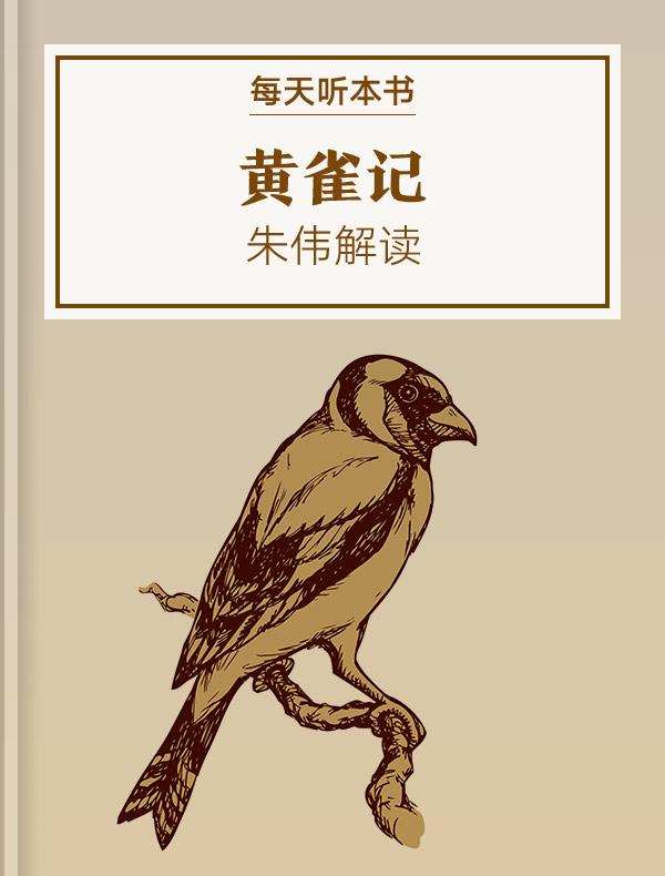 《黄雀记》| 朱伟解读