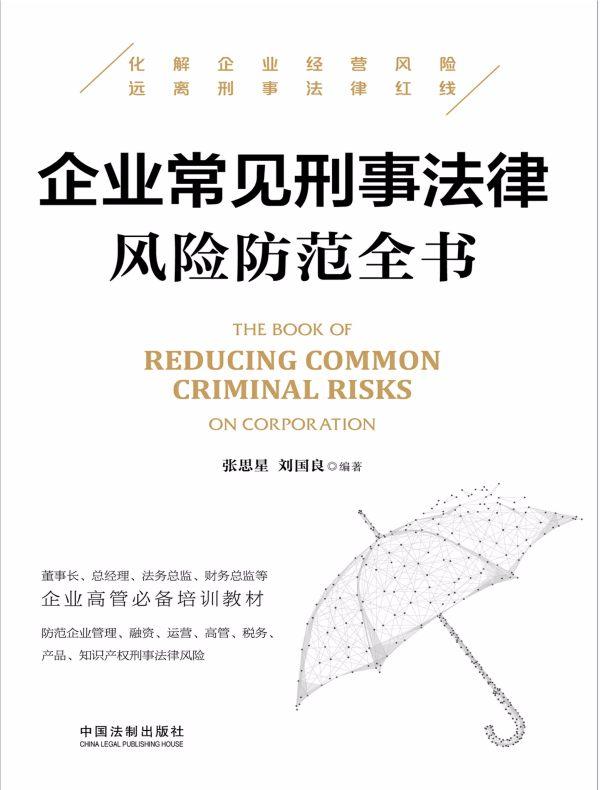 企业常见刑事法律风险防范全书