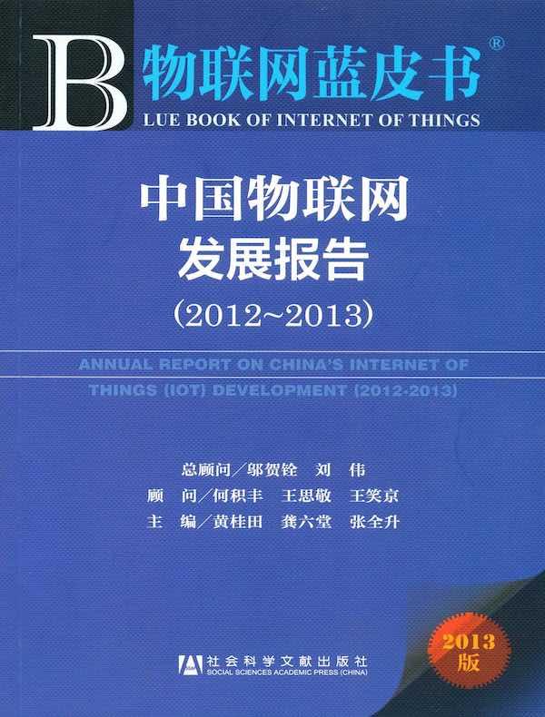 中国物联网发展报告(2012~2013)(物联网蓝皮书)