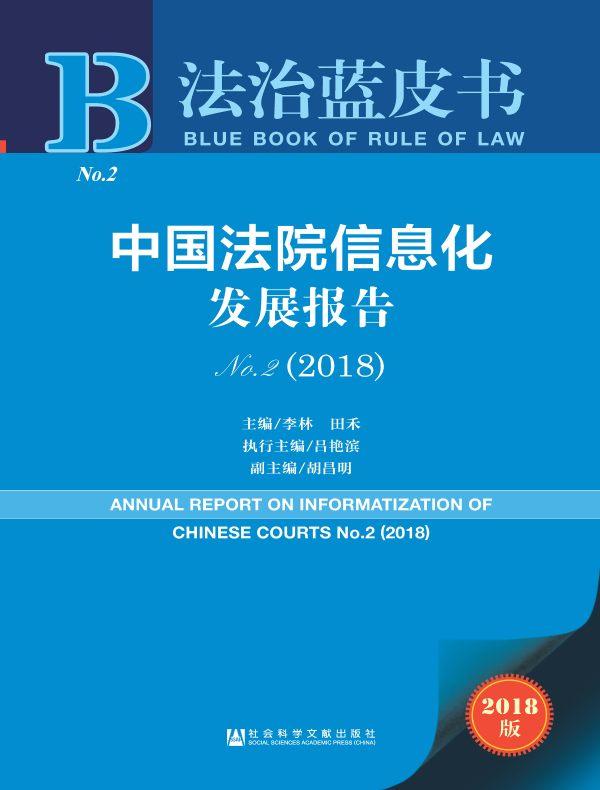 中国法院信息化发展报告(No.2)(2018)(法治蓝皮书)