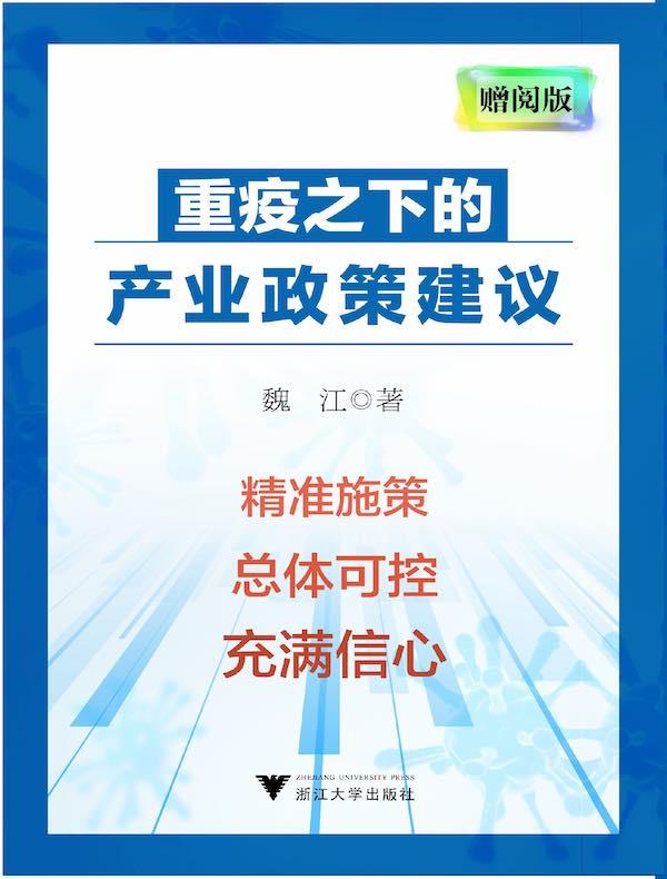 重疫之下的产业政策建议(网络赠阅版)