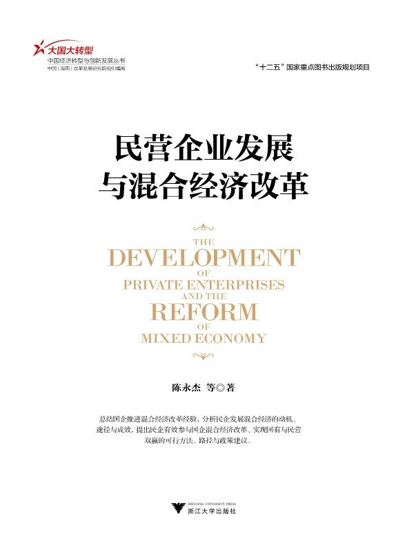 民营企业发展与混合经济改革