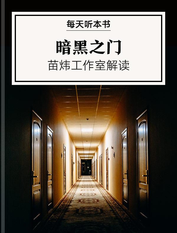 《暗黑之门》|苗炜工作室解读