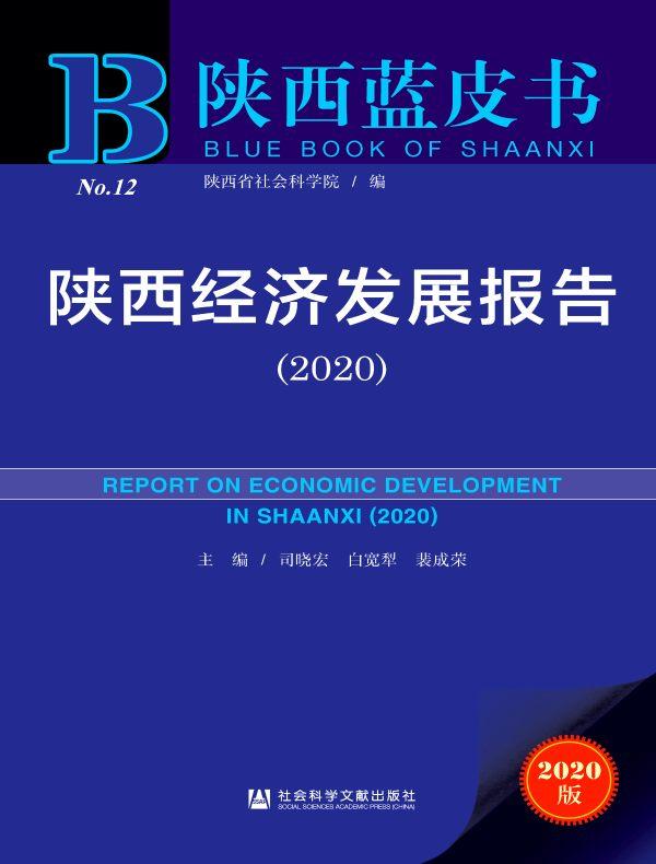 陕西经济发展报告(2020)(陕西蓝皮书)