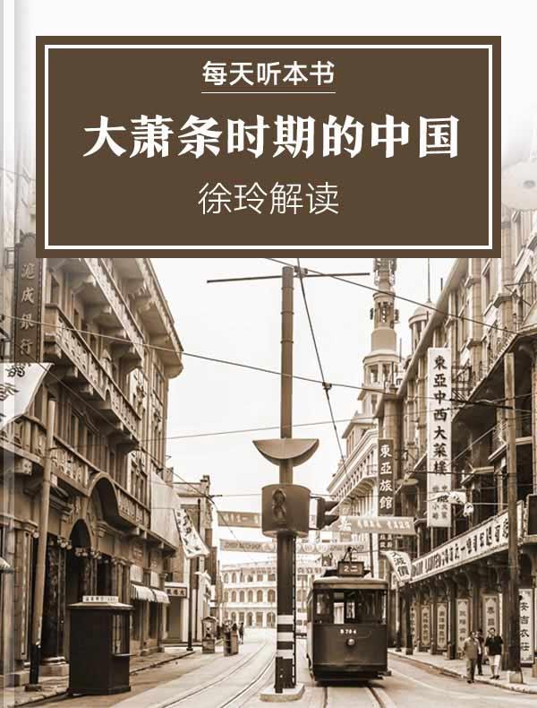 《大萧条时期的中国》 | 徐玲解读